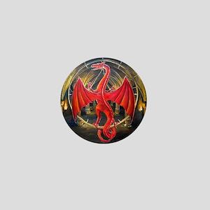 Red Dragon Mini Button