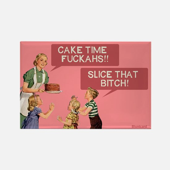 Cake Time By Bluntcard Magnets