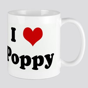 I Love Poppy Mugs