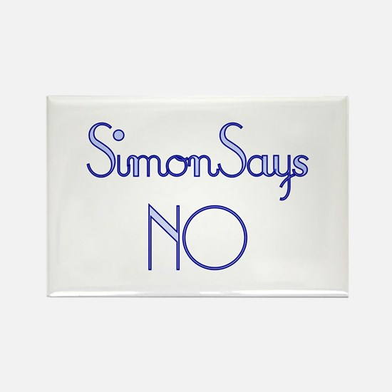 Simon Says NO Rectangle Magnet
