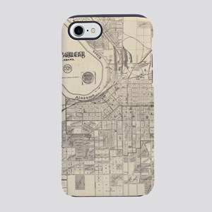 Vintage Map of Montgomery Alab iPhone 7 Tough Case