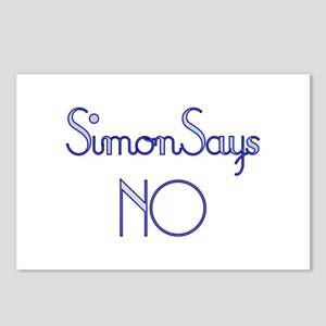 Simon Says NO Postcards (Package of 8)
