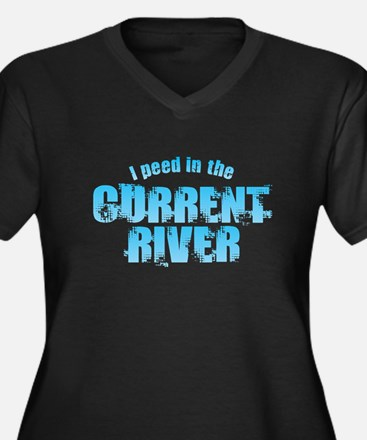 I Peed in the Current River Plus Size T-Shirt