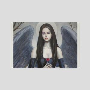 dark angel Rectangle Magnet