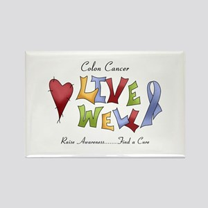 Colon Cancer (lw) Rectangle Magnet