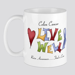 Colon Cancer (lw) Mug