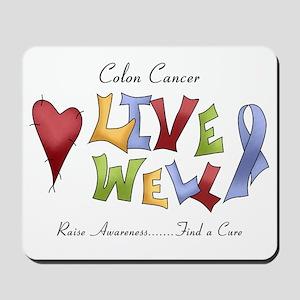 Colon Cancer (lw) Mousepad