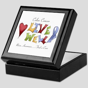 Colon Cancer (lw) Keepsake Box