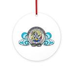 TRE Lofo Round Ornament