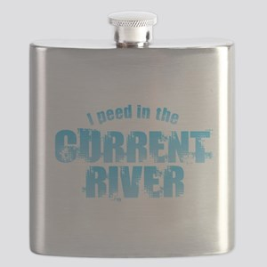 I Peed in the Current River Flask