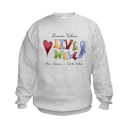 Domestic Violence (lw) Kids Sweatshirt