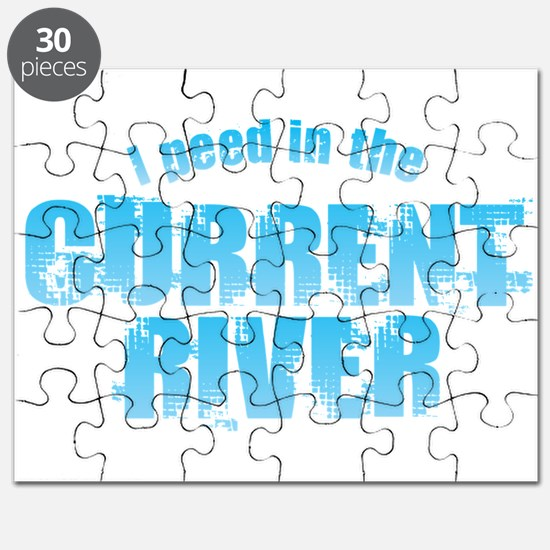 I Peed in the Current River Puzzle