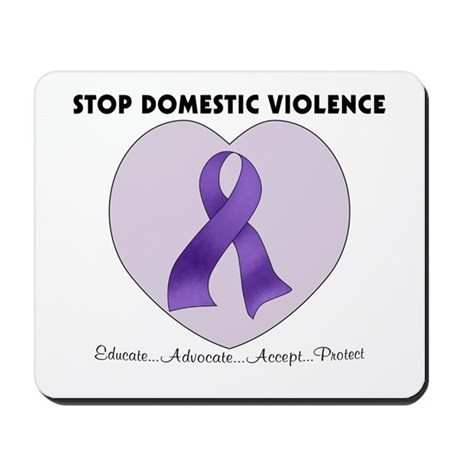 Stop Domestic Violence Mousepad
