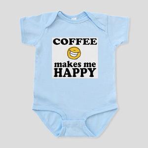 Coffee Makes Me happy Infant Creeper