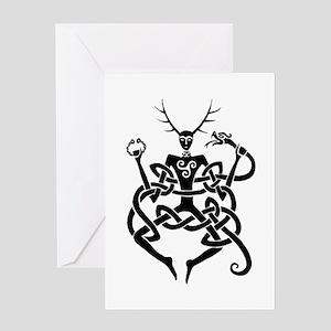 Cernunnos Greeting Card
