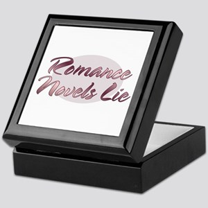 Romance Novels Lie Keepsake Box