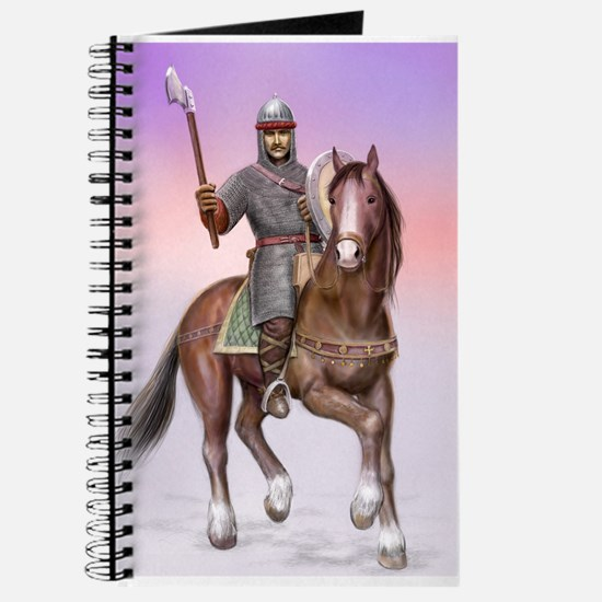 Cute Anglo norman horse Journal