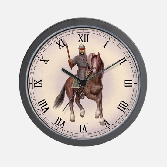 Unique The battle of hastings Wall Clock