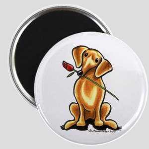 Red Dachshund Lover Magnet