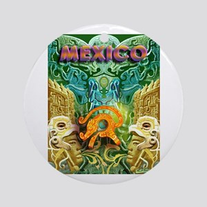 Totonac Mexico Ornament (Round)