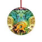 Totonac Mexico Ornament (Round)