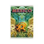 Totonac Mexico Rectangle Magnet