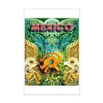 Totonac Mexico Mini Poster Print