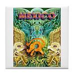 Totonac Mexico Tile Coaster