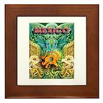Totonac Mexico Framed Tile