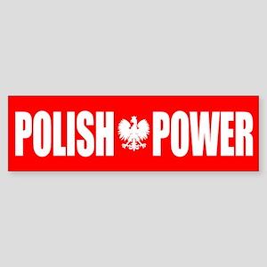 Polish Power Sticker (Bumper)