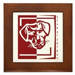 Year of the Dog Framed Tile
