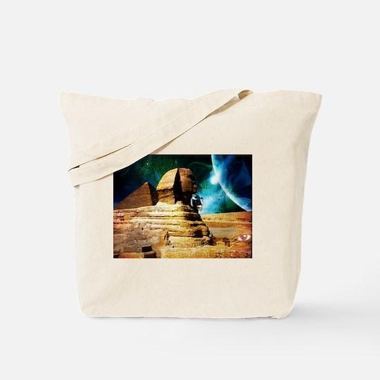 Cool Hieroglyphs Tote Bag