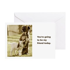 Card: Be my friend today