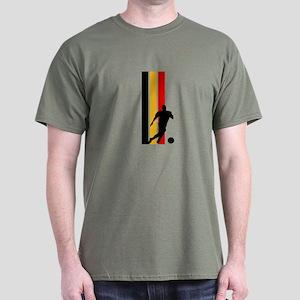 GERMANY FOOTBALL 2 Dark T-Shirt