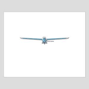 66 Thunderbird Emblem Small Poster