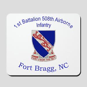 1st Bn 508th ABN Mousepad