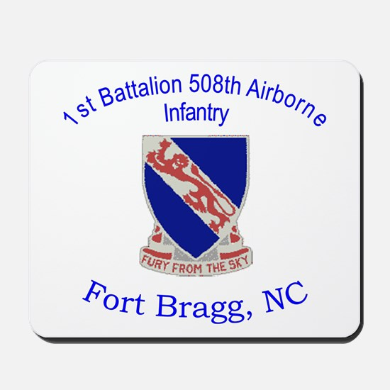 1st Bn 508th ABN Mousepad