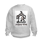 Puppy Love Kids Sweatshirt