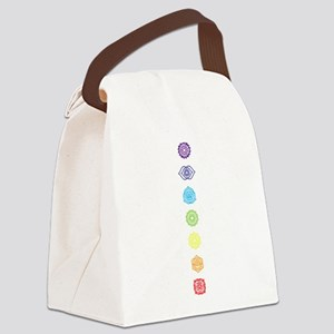 Open Your Chakra Canvas Lunch Bag