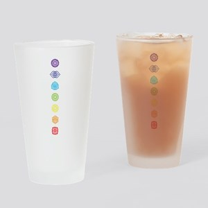 Open Your Chakra Drinking Glass