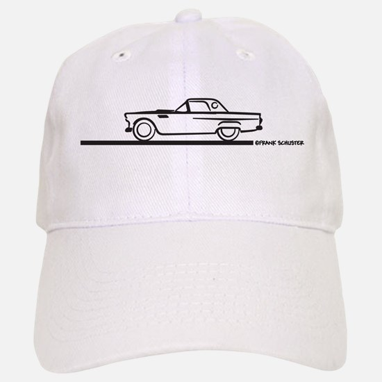 1956 Thunderbierd Hard Top Baseball Baseball Cap