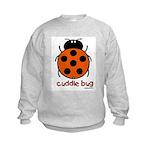 cuddle bug Kids Sweatshirt