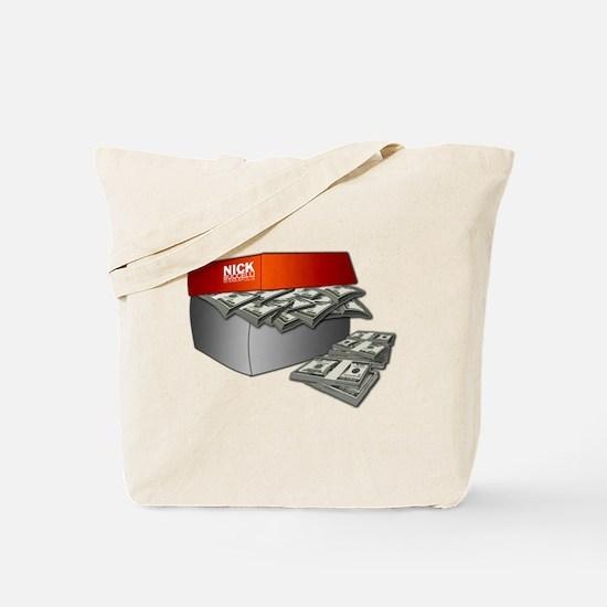 Shoe Box Cash Money Tote Bag