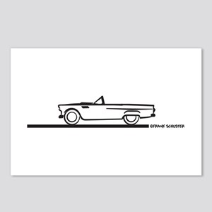 1955 Thunderbird Convertible Postcards (Package of