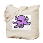 lil octopus Tote..image on front AND back!