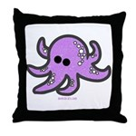 lil octopus Throw Pillow