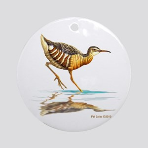 Clapper Rail Ornament (Round)
