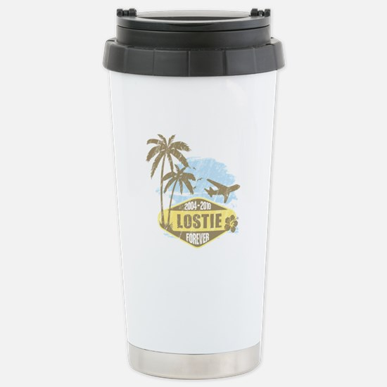 LOST - Lostie yellow Stainless Steel Travel Mug
