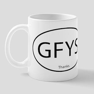 GFYS Thanks Mug
