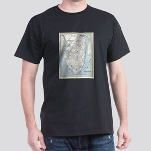 Vintage Map of Charleston South Carolina ( T-Shirt